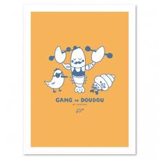Affiche du Gang de Doudou Jaune
